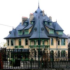 The Art Nouveau  Architecture Villa in Art Nouveau ... In 1908, the owner of the Champagne Pommeroy built this house to reflect a unified style inside and out.