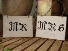Etsy.com shabbyfrenchstyle... love these signs-would be cute in the bedroom