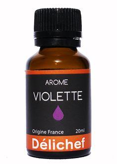 Arôme alimentaire de violette Délichef