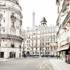 """""""Seeing the Eiffel Tower poke out behind all the Parisian buildings gets me every time,"""" says Olsson."""