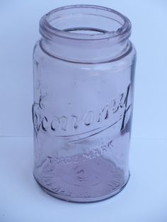 Economy Kerr Glass Quart Canning Jar
