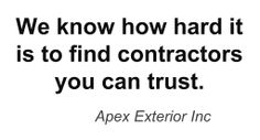 We Are Exterior Residential & Commercial Contractors Who You Can Trust