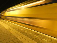 Station binnenkomende trein