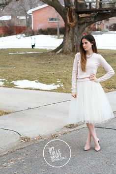 DIY // very simple tulle skirt tutorial