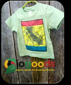 Organic CaliLove Toddler Tee 2T by IOGoods on Etsy, $18.00
