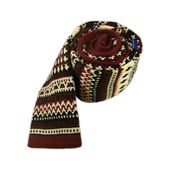 Knit Navajo - Red (Wool) - Knit Navajo - Red (Wool) - Browse our Bow Ties, Cufflinks, Pocket Squares and Tie Bars