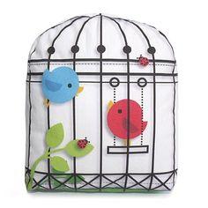 Mini Pillow Bird Cage by mymimi on Etsy, via Etsy.