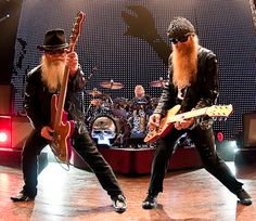 ZZ Top at Crisler Arena.  I think this was my very first concert.  They rocked!