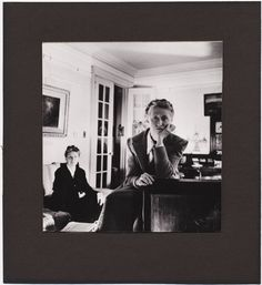 Marianne Moore and her mother, photographed by Cecil Beaton