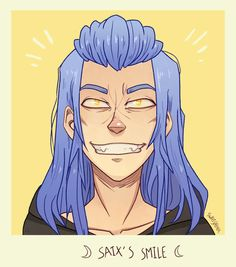 Saix's smile by SweetSchemer