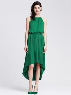 Emerald cove Maxi Dress by Banana Republic