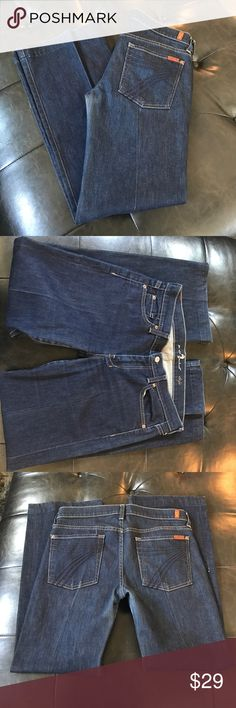 7 for all mankind jeans Great condition 7 for all mankind jeans size 31 inseam 30 7 For All Mankind Jeans Boot Cut
