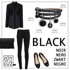 Joy de la Luz | Black is always a good color