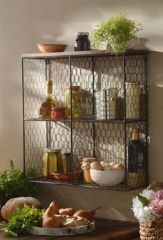 Open Wire Shelf Unit | Kirkland's Thought this was interesting!!
