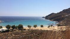 Plage de Psili Ammos, Serifos, Grèce