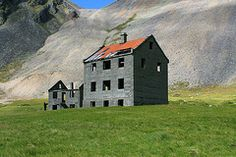 An abandoned house in SE Iceland called Horn
