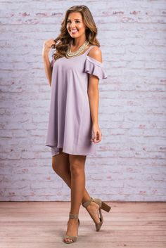 """In A Perfect World Dress, Lavender""In a perfect world, you wouldn't have to worry that you could miss out on this fabulous dress. However that is not the world we live in and you most certainly do have to worry! #newarrivals #shopthemint"