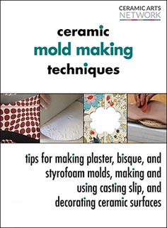 Learn to make ceramic molds, use bisque molds and plaster molds, plus get casting slip recipes in Ceramic Mold Making Techniques. Clay Art Projects, Ceramics Projects, Ceramic Techniques, Pottery Techniques, Pottery Sculpture, Pottery Art, Pottery Studio, Art Installation, Plaster Molds
