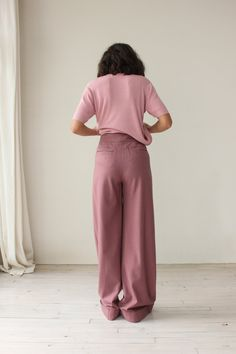 Kenzo pink trousers