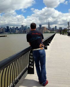 Dave was checking out NYC in his BD-Tee!
