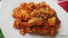 Olaszos csirkés bulgur