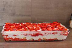 Beste Rezeptesammlung: Erdbeer-Tiramisu
