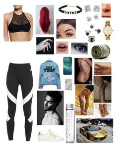 """Girl gang"" by lumsdenk on Polyvore featuring Milly, NIKE, High Heels Suicide, Matchless, Forever 21, Kate Spade, Kenneth Jay Lane, Tiffany & Co., adidas and Happy Plugs"