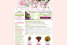 http://www.florencefiorionline.com// Flower E-Commerce