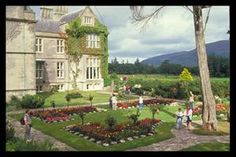 Killarney Historic Town Walk-Franciscan friary (1860), Muckross Abbey, Killarney's courthouse (1835), its railway station (1853) and St. Mary's Cathedral.       A final source of intrigue is Killarney House, the Elizabethan Revival mansion set on a hillside with awesome views of Lough Leane. Its origins lie in the late 1800s, when the Earl of Kenmare of the time, decided to build a new residence.