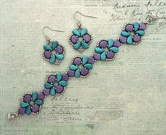 Beading Patterns Free, Beaded Jewelry Patterns, Bead Patterns, Beading Ideas, Beading Tutorials, Beaded Earrings, Beaded Bracelets, Diy Jewelry Inspiration, Seed Bead Jewelry
