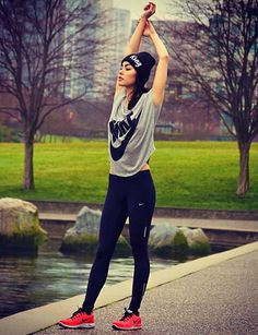 gym time <3  sporty outfit,just the best!