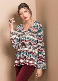 Gostei deste produto do Portal Posthaus! Blusa com Detalhe de Renda