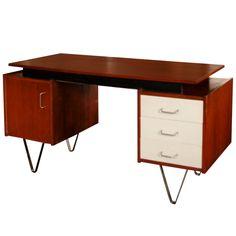 Desk Designed By Cees Braakman For Pastoe 1958
