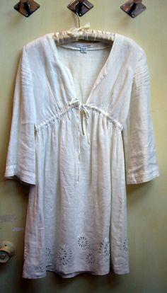 linen tunic: DVF
