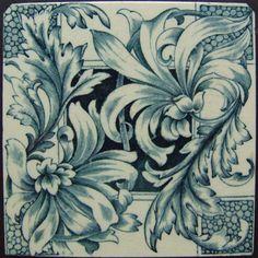 West Side Art Tiles -4488n320p0 - English Tile>