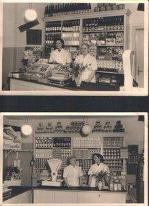 Shop in Essen, Germany, 1952