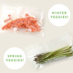 Spring is sneaking up on us! Keep your wintertime favorites fresh while making room for the spring produce to come: