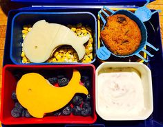 Whale Bento Lunch with hidden surprise 1