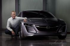 Concepto Opel Monza, previo al Salón de Frankfurt 2013