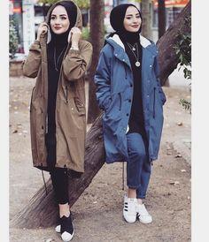 Ashfiya❤ - Male Tutorial and Ideas Modest Fashion Hijab, Hijab Casual, Hijab Chic, Hijab Outfit, Muslim Fashion, Fashion Outfits, Hijab Dress, Stylish Dresses For Girls, Modest Dresses