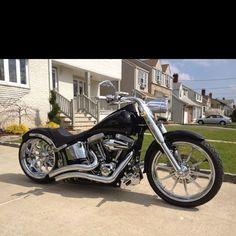 FatBoy Harley (Custom Beauty) #harleydavidsonsoftailfatboy