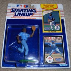 1988 Kenner Starting Lineup MLB Baseball Collector/'s Stand in box