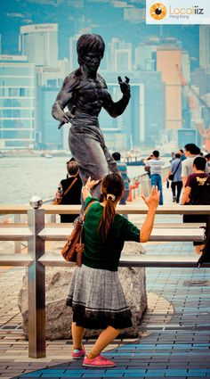Bruce Lee, Avenue of Stars (Hong Kong)