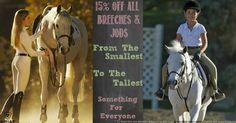 All breeches are 15% off or more - many are 24% off! :) Free shipping for orders over $75 too!  If you've been drooling over a pair of Pikeur breeches, now is the time!  **ts breeches are already at the lowest price permitted by the manufacturer.
