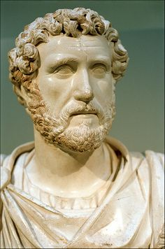 bust of the emperor Antoninus Pius, British Museum, London | by Xavier de Jauréguiberry