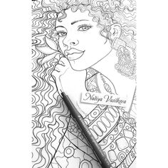 You wonder what pictures will be in the new book? Here's another spoiler! How do you such a beauty!?! I'm already at the finish. By the end of the week, I hope the book will be with me! www.nadiyavasilkova.com #coloringpage #mystaedtler #coloring #coloringbook #coloringforadults #coloringbookforadults #adultcolouring #linework #adultcolouringbook #coloredpencil #adultcoloringbookapp #colortherapy #colortherapyapp  #nadiyavasilkova #draweveryday #målarbok #creativelycoloring #pointillism…
