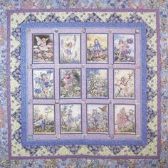 Flower Fairies Periwinkle Free Quilt Pattern