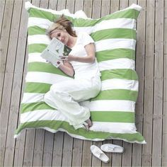 giant outside pillow.... Must have!