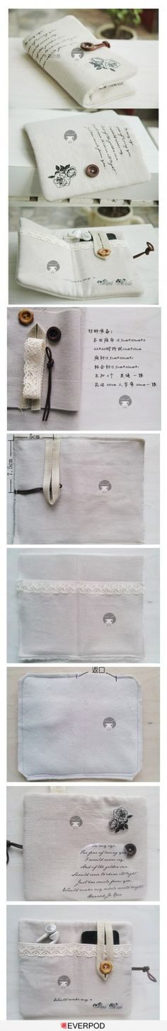 There is no way I can live without this! You can make it using any fabrics, buttons, designs, etc.