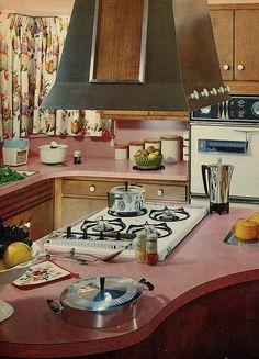 kitchen laundry - Family Circle 1963